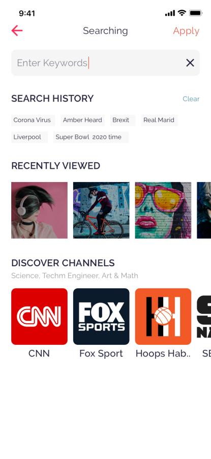Mazi News & Magazine for React Native mobile template