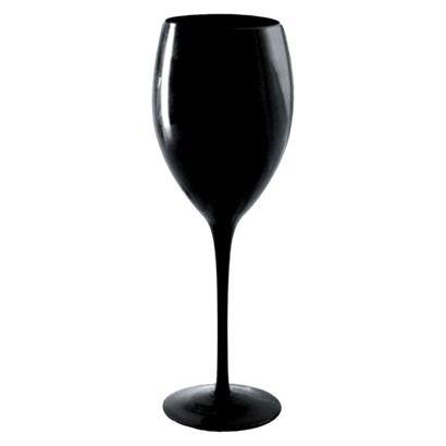 Artland 9oz 4pk Wine Glasses Black Black Wine Glass Black Wine Glasses Wine Glass