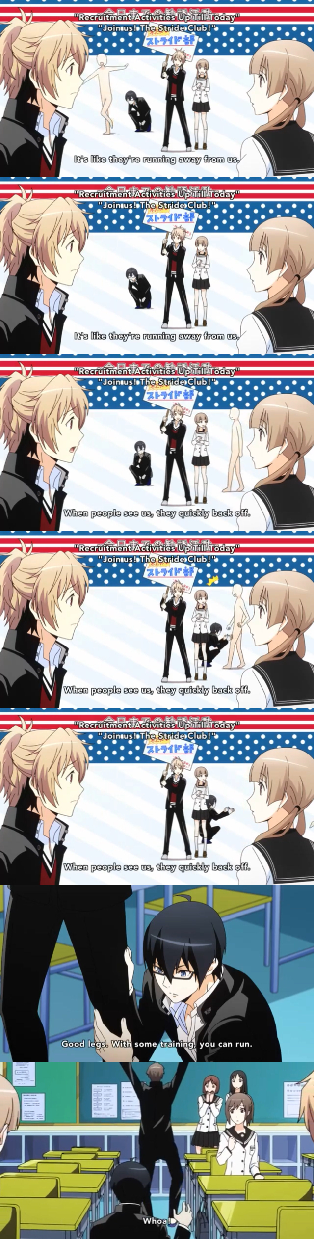 Taga Prince Of Stride Sports Parkour Anime Comedy