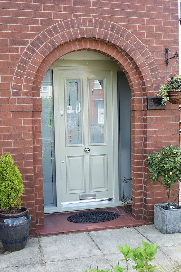 Traditional wooden Grand Victorian front door with u0027Etchedu0027 glazing in Bolton & Traditional wooden Grand Victorian front door with u0027Etchedu0027 glazing ...