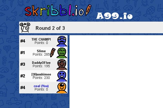 Play Skribbl Io Unblocked On A99 Io Goruntuler Ile