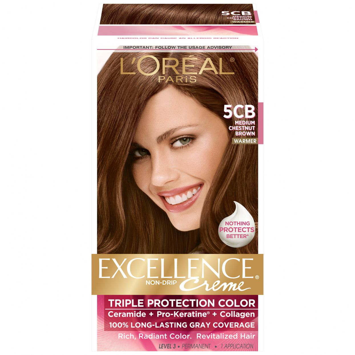 Warm Chestnut Brown Hair Color Best Hair Color To Cover Gray At