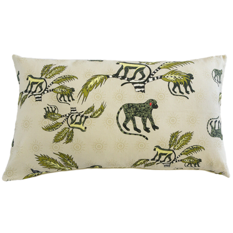 Ardmore Monkey Palm Desert 70x40cm Cushion