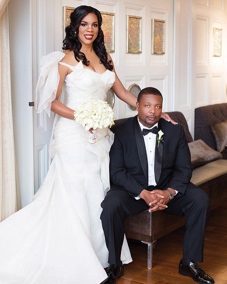 Kandi burruss wedding dress  Raquel and Charles had a super glam Baton Rouge wedding designed by
