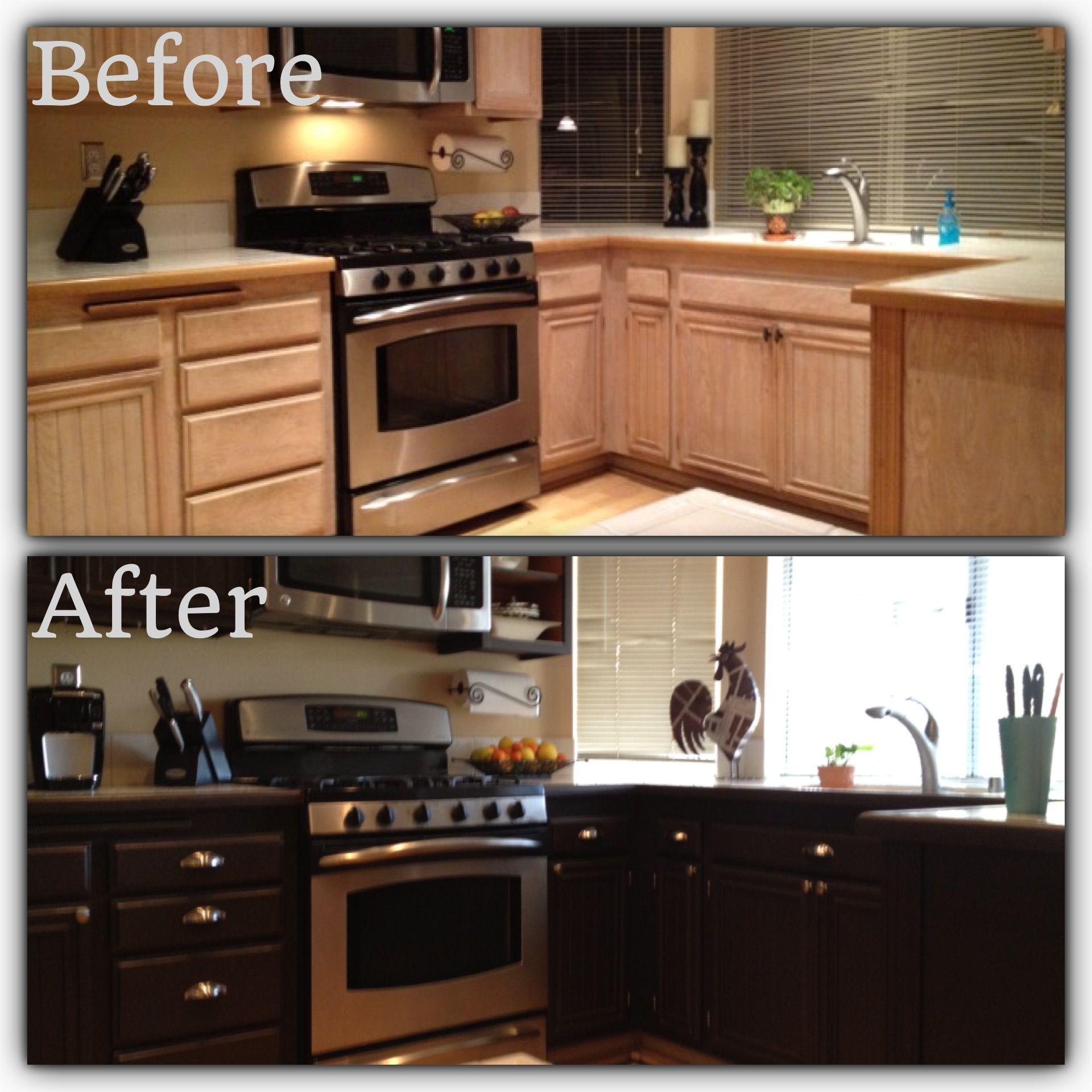 Kitchen Makeover Now That I Have The Hardest Job Done