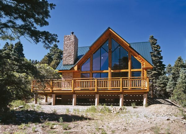 Custom Hybrid Log Homes Amp Timber Frame Homes Photo Gallery By Wisconsin Log Homes Exteriors