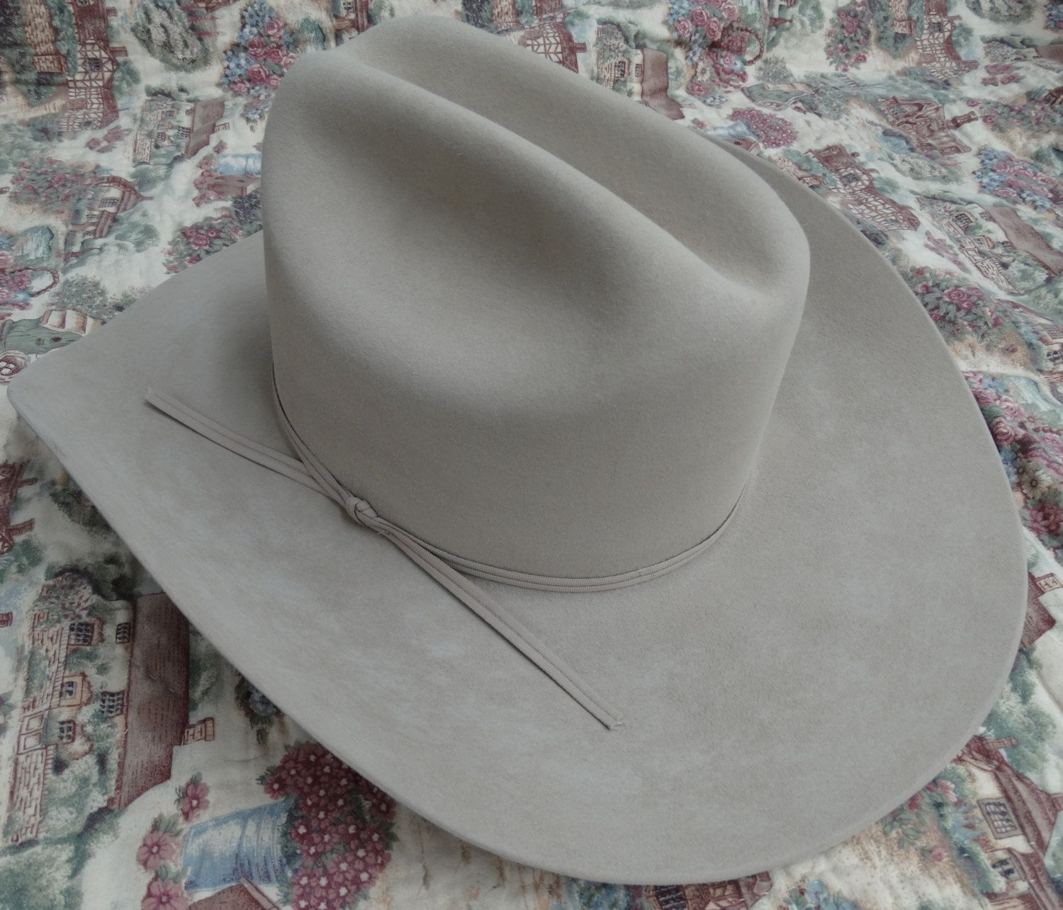 6ca588e7b98 Stetson XXXXX Ranch Tan Cattleman Cowboy Hat Size 6 - 7 8 (55) by  SundanceandSass on Etsy