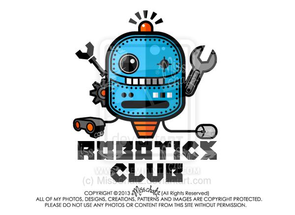 Robotics Club By Misschatz Illustrationz By Miss Chat Z