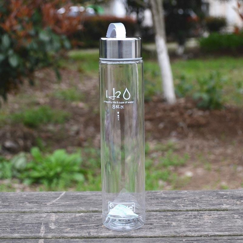 Fashion Portable 280ML Bike Sport Unbreakable Plastic Water Bottle Water Cup