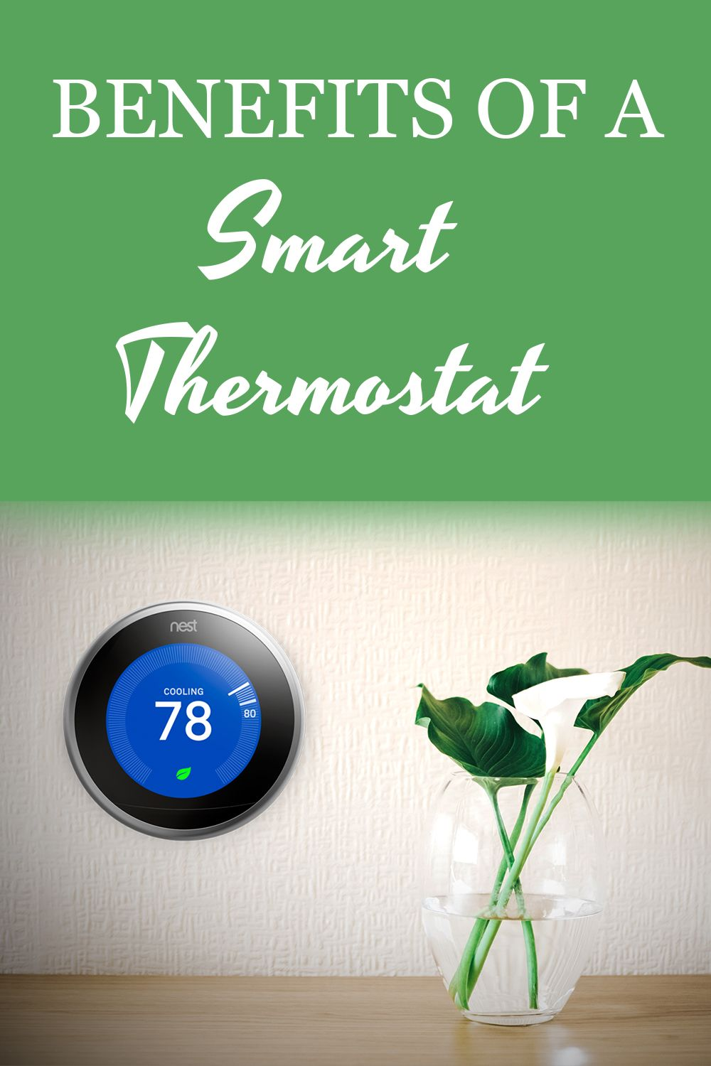 Save on energy costs with a smart thermostat. Home