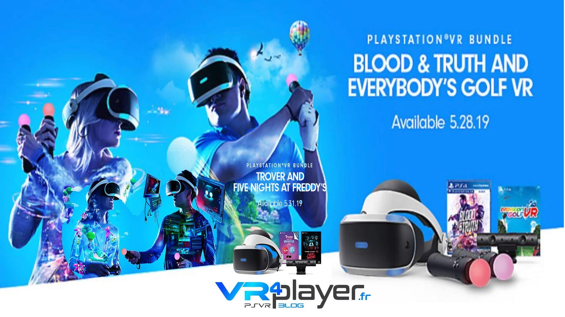 PlayStation VR Des bundles PSVR vont booster cette fin