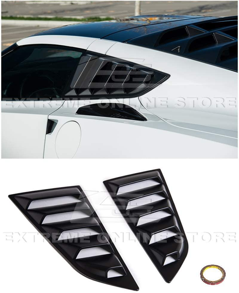 For 14 19 Corvette C7 Coupe Rear Side Quarter Window Louver Sun Shade Cover In 2021 Eos Online Store