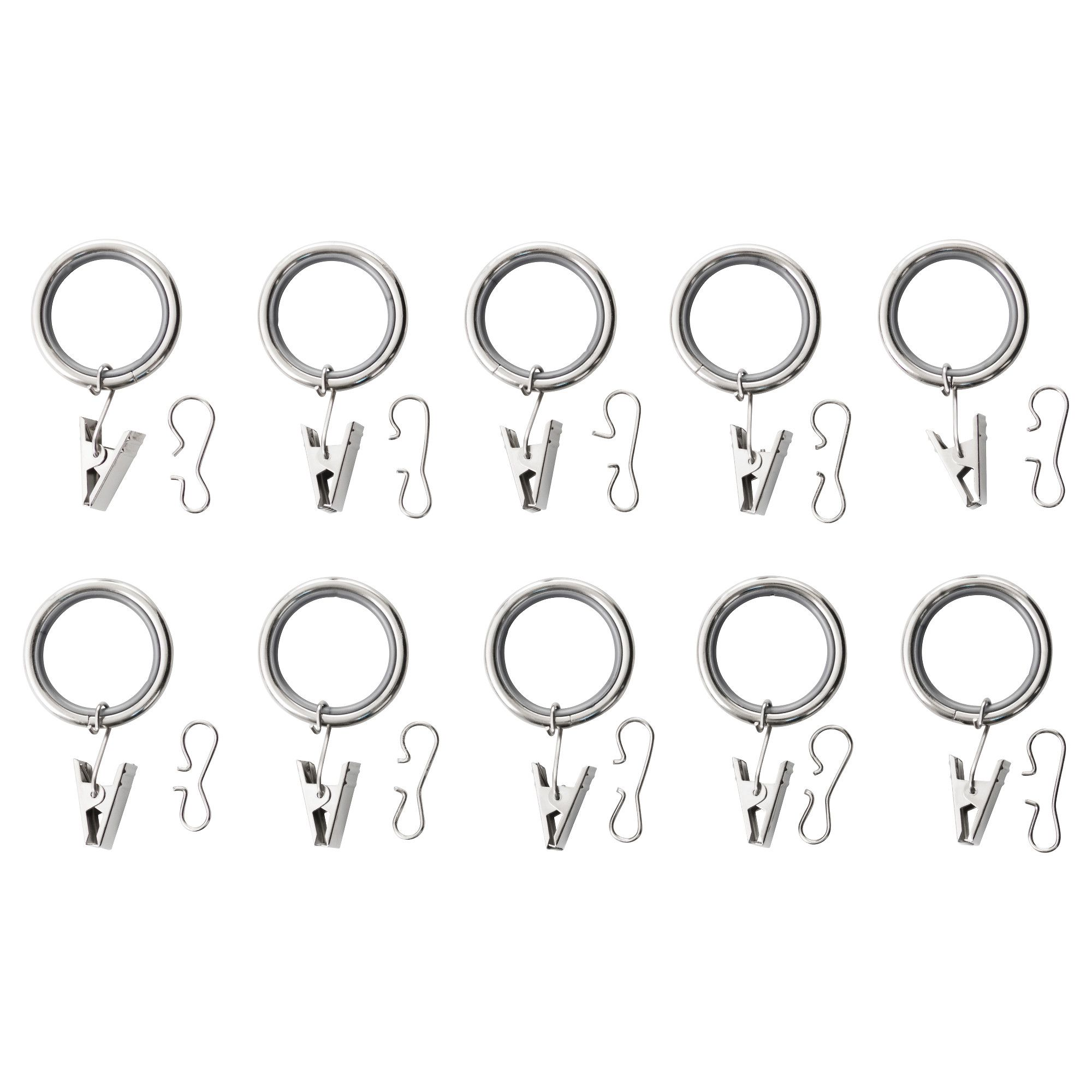 Syrlig curtain ring with clip and hook ikea you can hang your curtains - Ikea Syrlig Curtain Ring With Clip And Hook You Can Hang Your