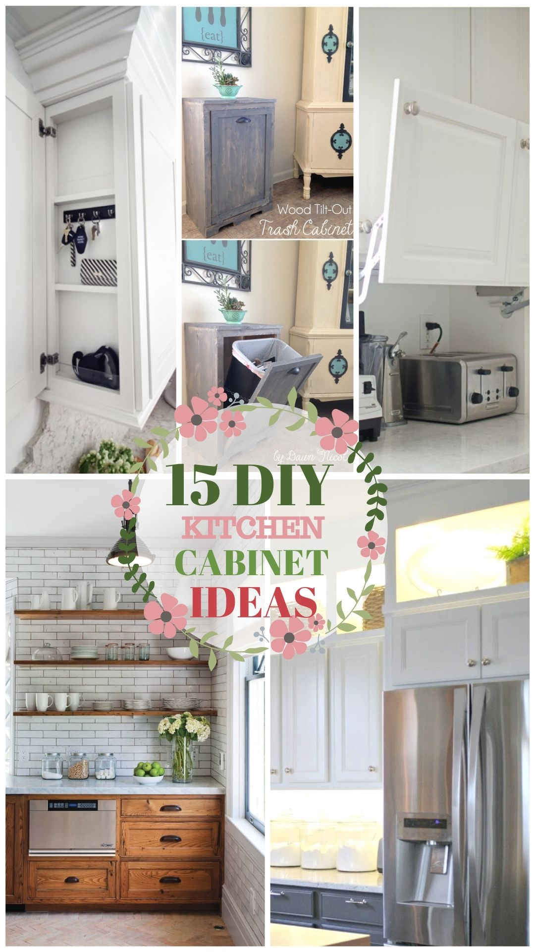 Kitchen Cabinet Inspirations Best Diy Lists In 2020 Diy Kitchen Cabinets Diy Kitchen New Kitchen Diy
