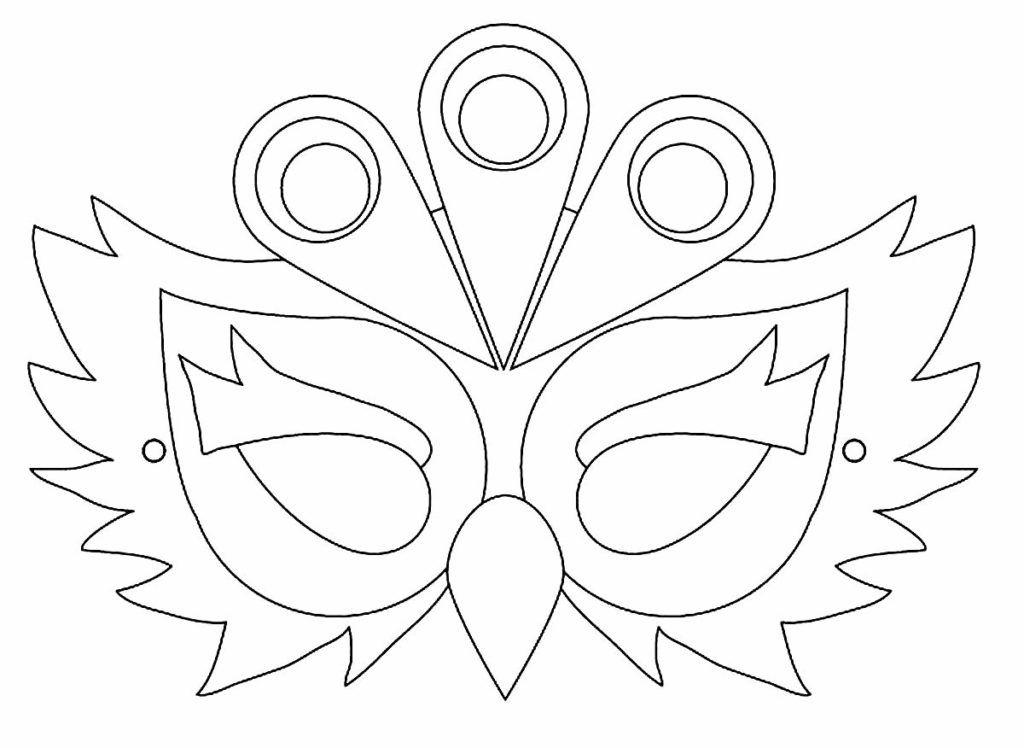 Malvorlage Maske Schmetterling Aglhk