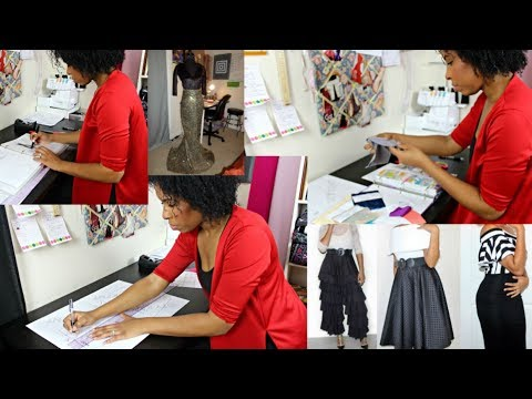 16 Tk Life Vlog 1 Becoming A Self Taught Fashion Designer Youtube With Images Fashion Design Design Sewing Projects For Beginners