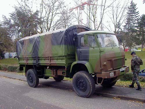 TRM 4000 (4 tonnes) French Medium Truck (4 tons) | Army ...