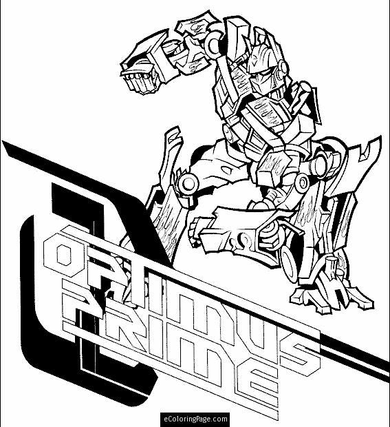 transformers-optimus-prime-colouring-page | eColoringPage ...