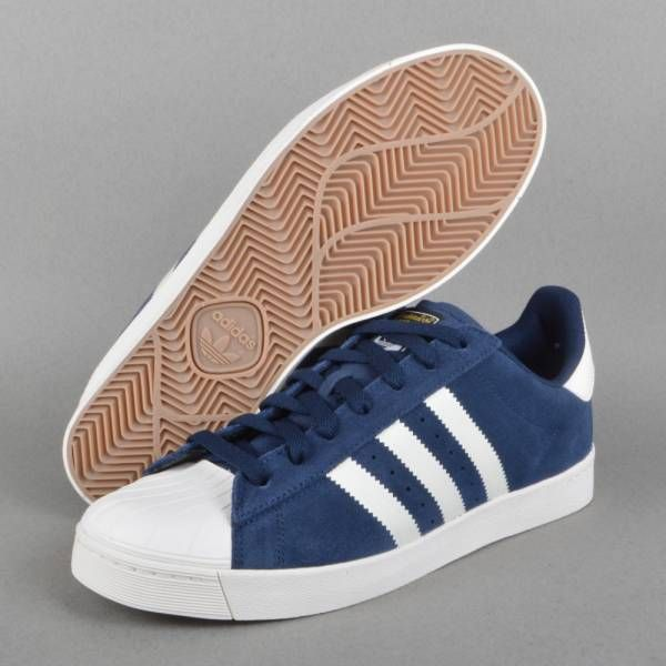 Cheap Adidas Originals Superstar Bounce Blue White Men Classic Shoes
