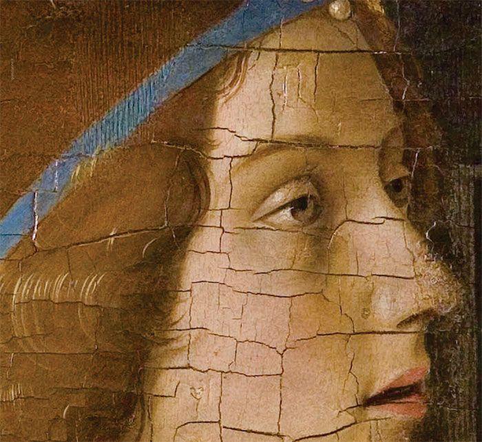 Annunciazione - Antonello da Messina, 1474, olio su tavola, 180×180 cm, Museo di Palazzo Bellomo, Siracusa https://it.wikipedia.org/wiki/Annunciazione_(Antonello_da_Messina) [detail]