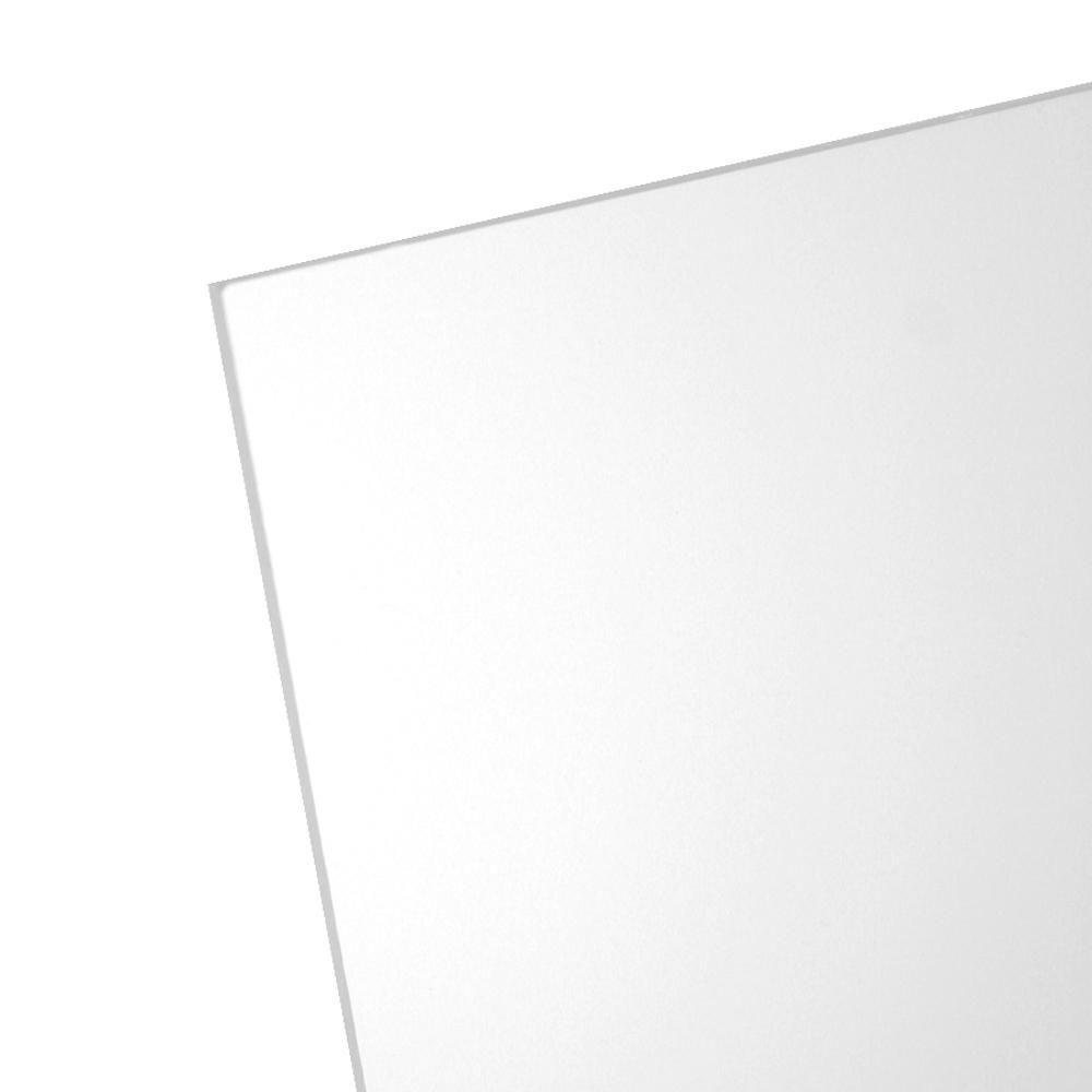 Optix 11 In X 14 In X 0 050 In Clear Non Glare Acrylic Sheet 1x09242a The Home Depot Clear Acrylic Sheet Acrylic Sheets Plastic Sheets