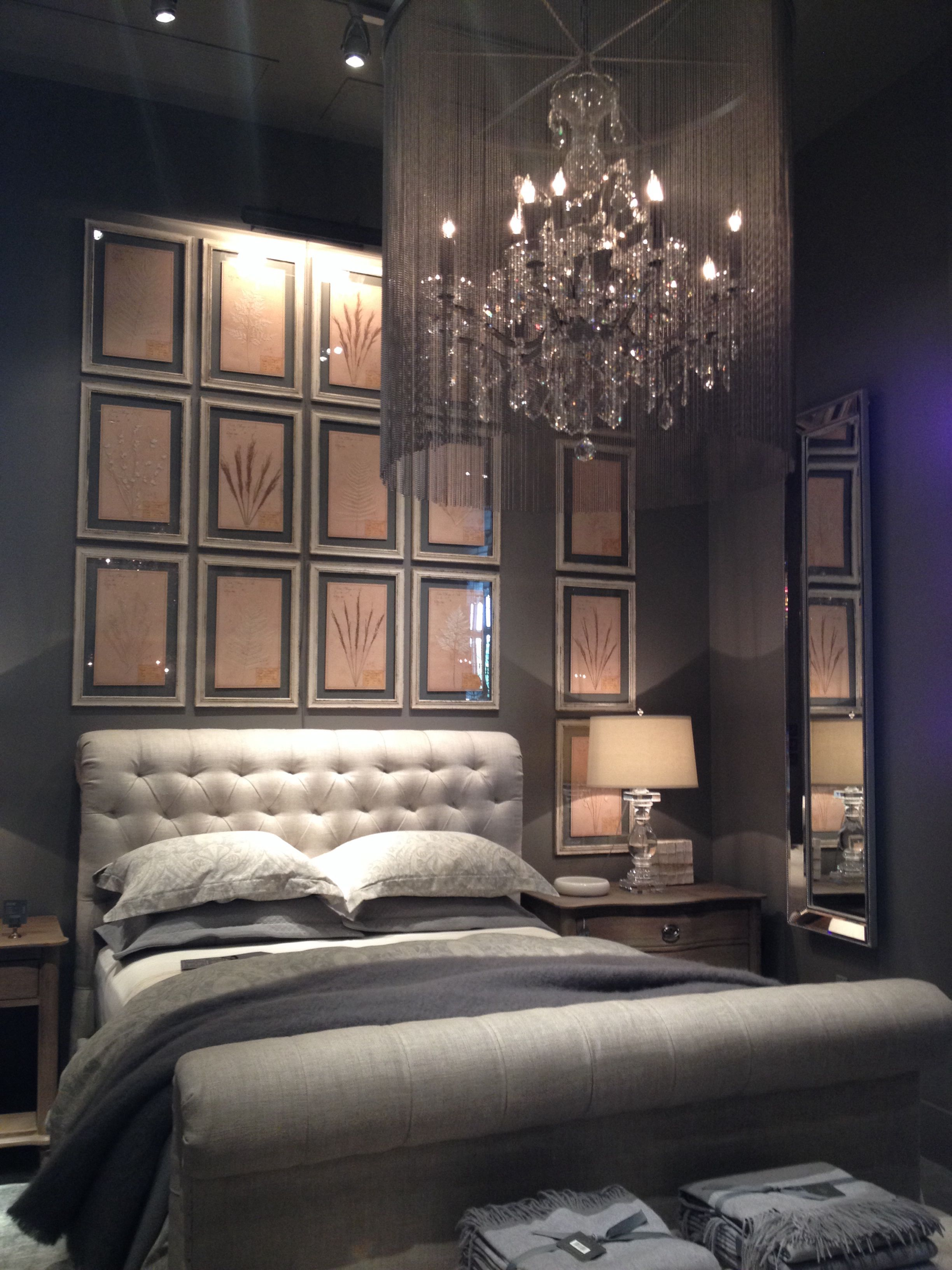 Restoration hardware bedroom - Restoration Hardware Bedroom Gray