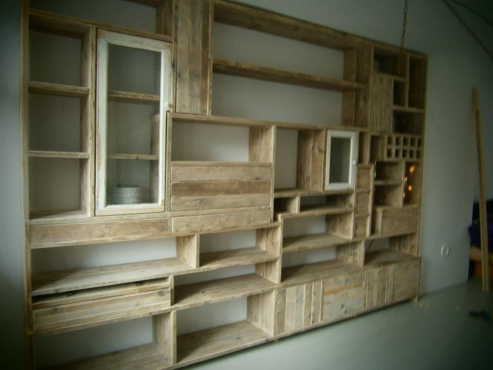 A Krista Weissman bookcase (https://www.facebook.com/pages/Krista-Custom-Woodwork/343047279082318)