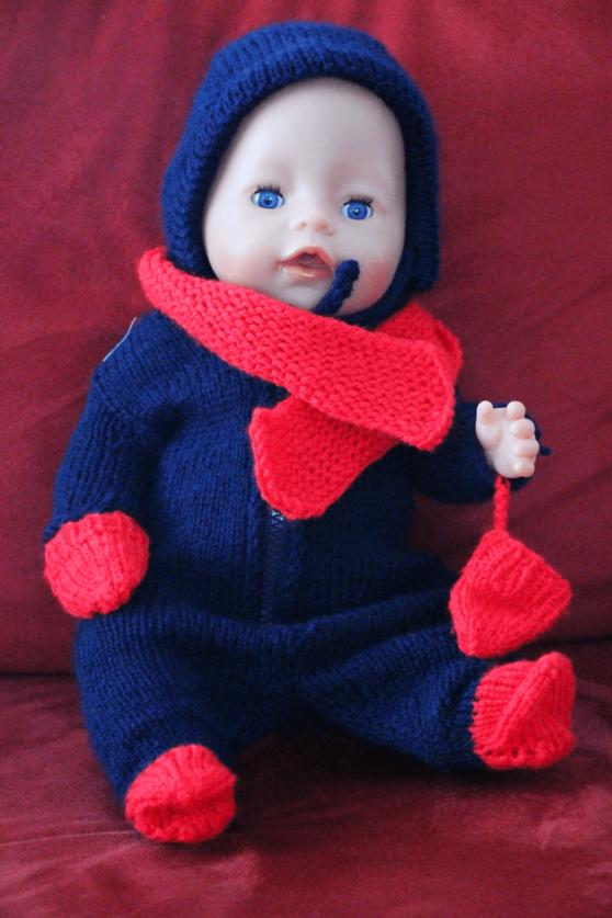 Puppen Overall Stricken Für Baby Born Kostenlose Anleitung