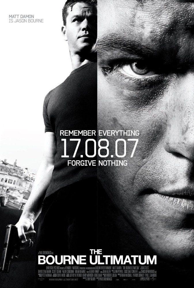 The Bourne Ultimatum 2007 Imdb The Bourne Ultimatum Action Movie Poster Bourne Movies