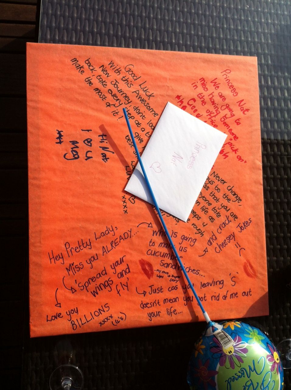 Gift wrapping ideas for a farewell | Beautiful Life by Natalie Colby ...