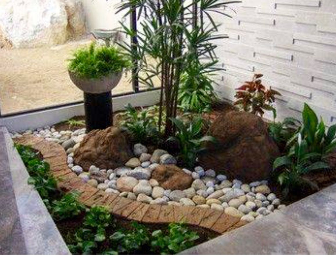 stylist and luxury front yard landscaping pictures with rocks. Landscaping with rocks  Xeriscape Pinterest Rock and Gardens