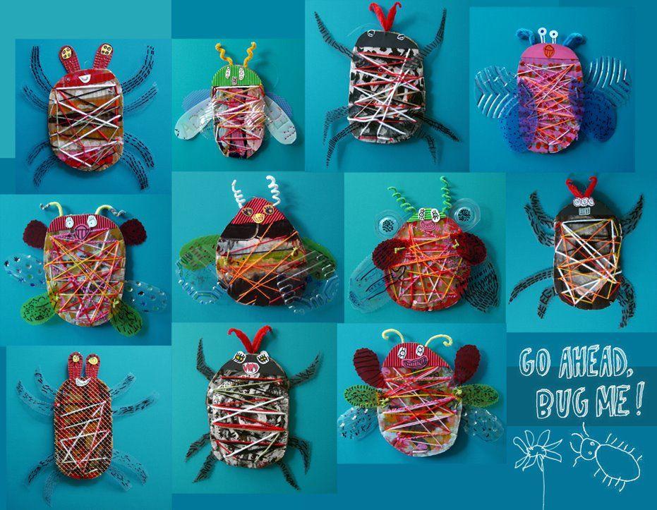 manuales insectos de p5 con immagini  creatività