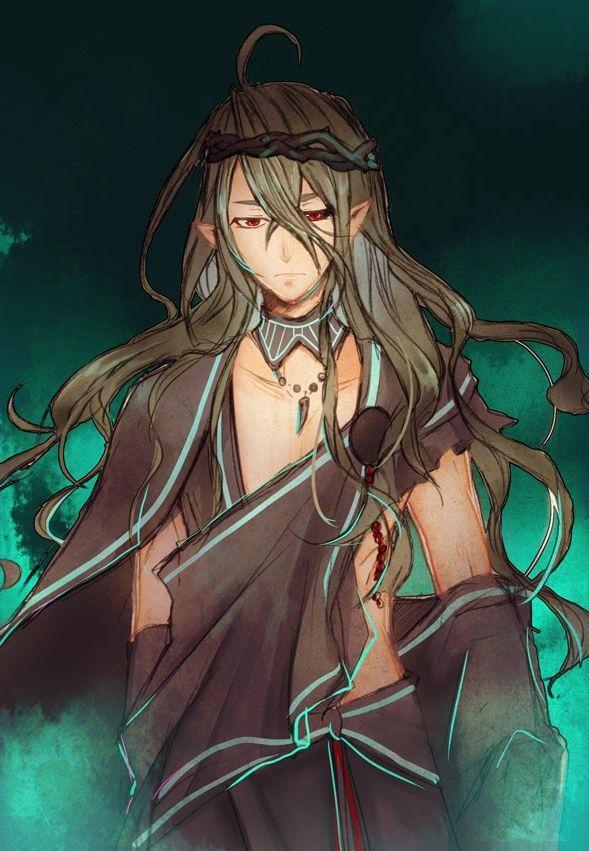 Kamigami no Asobi Series, Visual Novel Hades Aidoneus Character