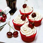 Cherry Coca Cola (Coke) Cupcakes Recipe