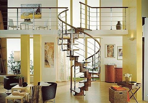 escalier-en-colimacon-en-bois-45055 | escalier colimacon ...