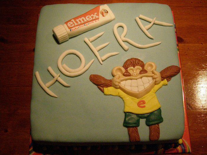 Elmex Toothpaste Cake
