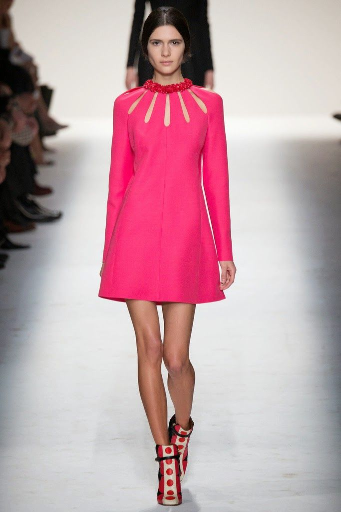 Just you: Valentino Fall-Winter 2014-15 París Fashion Week ...