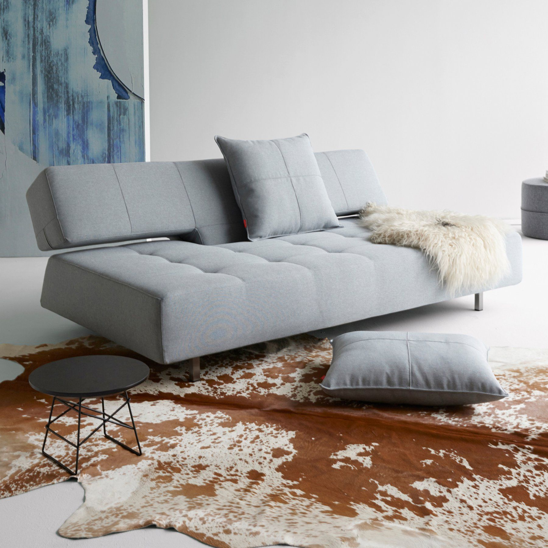 Innovation Living Long Horn Deluxe Excess Convertible Sofa