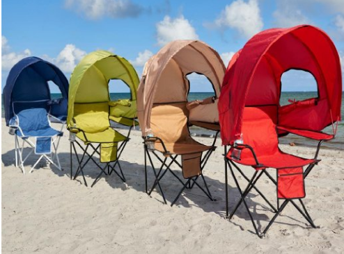 Beach Chairs With Shade Panton Bachelor Chair Best Portable For Summer 2016 Essentially Mom
