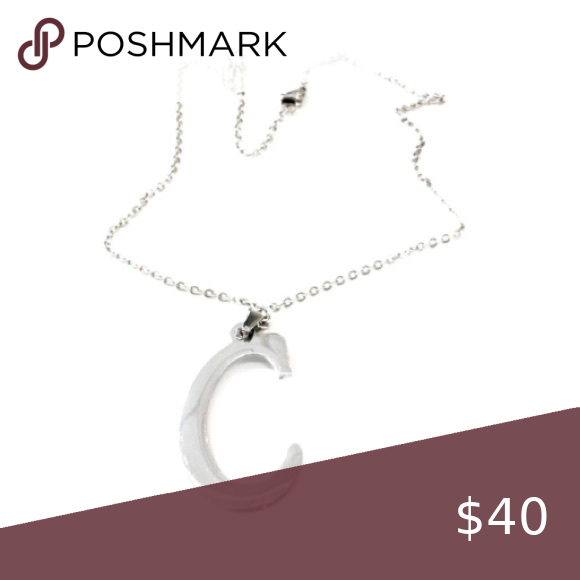 Photo of 10 Inch Silver Stainless Steel Initial C Necklace 10 inch Silver Dainty Chain Ne…