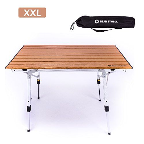 Triwonder Ultralight Aluminum Folding Camping Table