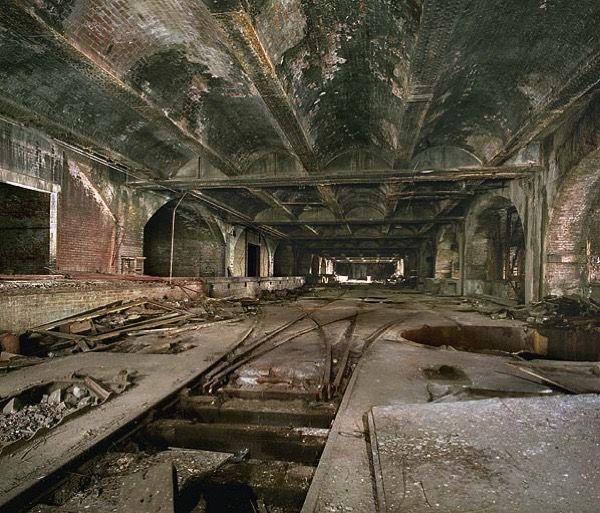 London City, London, Abandoned