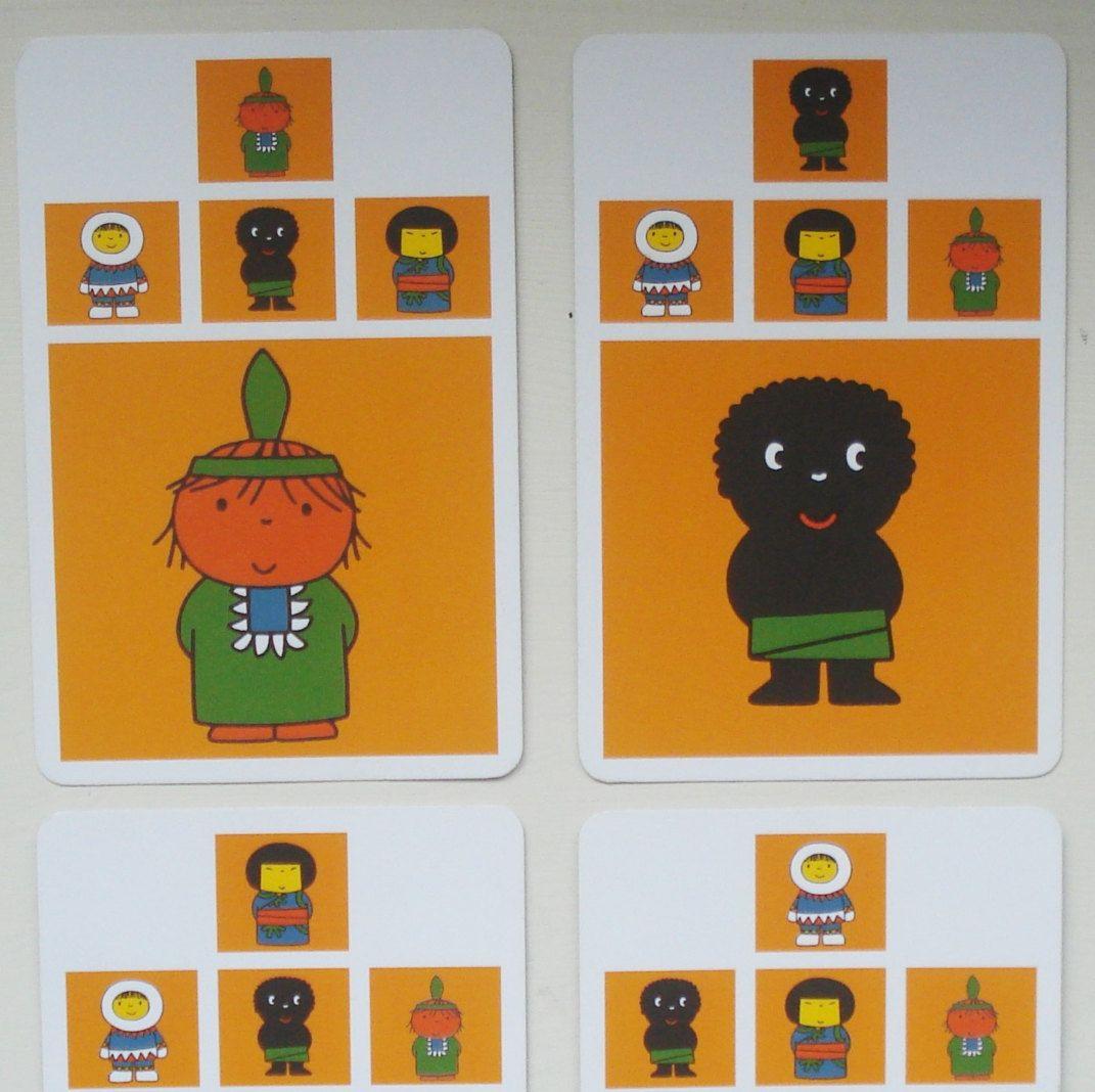 Kwartetkaarten Large, Nijntje, hobbymateriaal, karton, 12 x 8 cm, 36 stuks by LabelsAndMore on Etsy