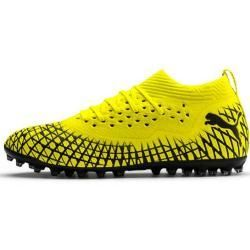 Soccer shoes for men -  Puma Future 4.2 Netfit Mg football boots, size 46, in yellow PumaPuma  - #dragontattoo #foottattoos #Men #piscestattoo #shoes #Soccer #tattooideasforguys