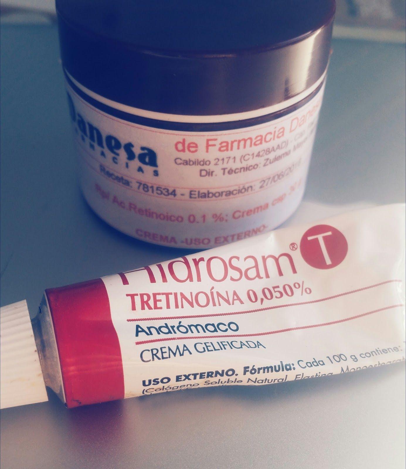 Manual de uso tretinoína, el ácido para conseguir una