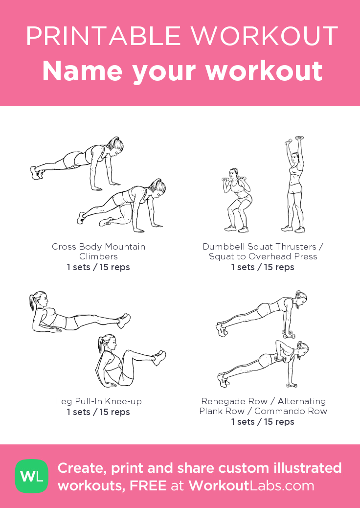 Workout1 my visual workout created at