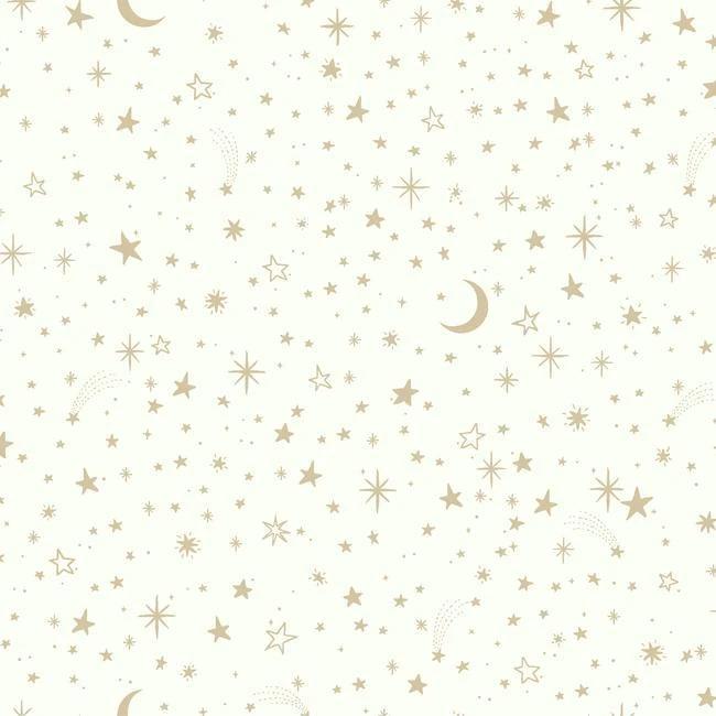 Twinkle Little Star White Peel & Stick