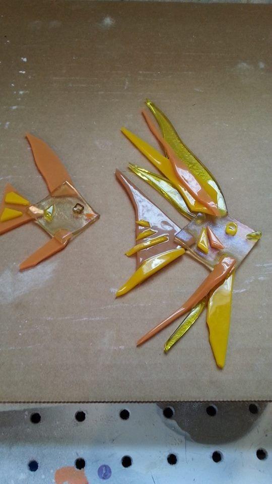 Handmade Art Glass Fish