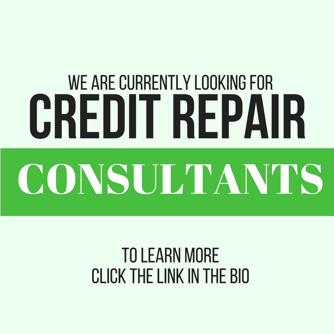 Be A Credit Repair Consultant Credit repair services