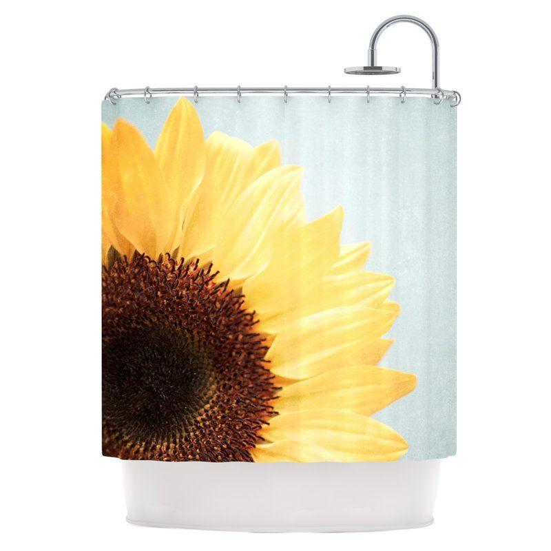 Sunshine Shower Curtain Bathroom Inspiration Decor Shower
